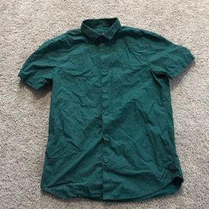 Armani Exchange M short sleeve dress shirt!